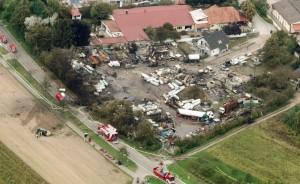 Gasexplosion in Harthausen